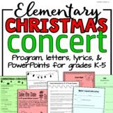 Elementary Music Christmas Concert BUNDLE: A Christmas Musical Program