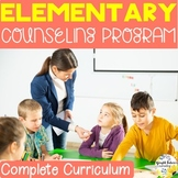 Elementary Counseling Program + Digital Activities for Dis