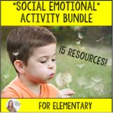 Elementary Counseling Social Emotional Bundle