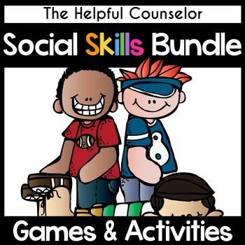 Social Skills: Games and Activities Bundle