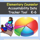 Elementary Counselor Accountability Data Tracker Tool K-6