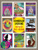 Elementary Counselor Lesson Bundle, Unit 2 for each grade (Pre K - 6th Grades)