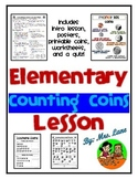 Elementary Counting Coins Lesson