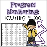 Counting to 100 Progress Monitoring Page