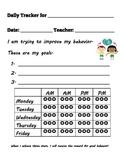 Elementary Daily Behavior Tracker