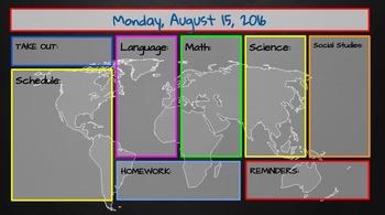 Elementary Daily Planner and Agenda Slide