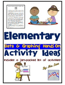 Elementary Data and Graphing Hands-On Activity Ideas
