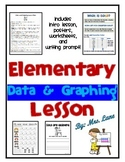 Elementary Data and Graphing Lesson