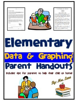 Elementary Data and Graphing Parent Handouts (Help At Home)