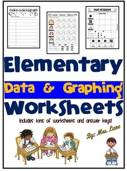 Elementary Data and Graphing Worksheets