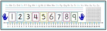 Elementary Desk Plates - Math Inspired Multiple Size Options