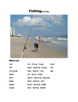 Fishing - By the Way  ESOL prompt, sub plans