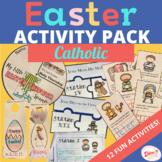 Elementary Easter Activity Pack - Catholic
