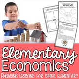 Economics Unit - Interactive Activities, Graphic Organizers, Projects, and More