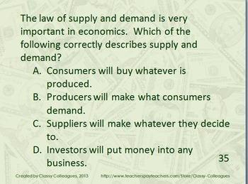 Economics Review Slides