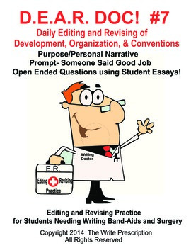 DEAR DOC-Daily Editing and Revising of Development Organization & Conventions #7