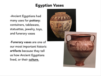 Elementary Egyptian Vases Presentation