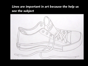 Elementary Elements of Art-Line Presentation