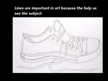 Elementary Elements of Art-Line Presentation