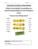 Elementary Emoticon T-shirt Project