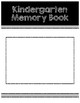 Elementary - End of School Year Memory Book