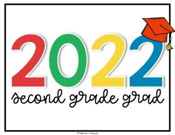 Elementary Graduation Signs {End of the Year FREEBIE}