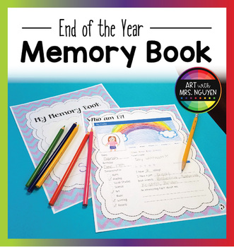 Elementary End of the Year Memory Book (Yearbook)
