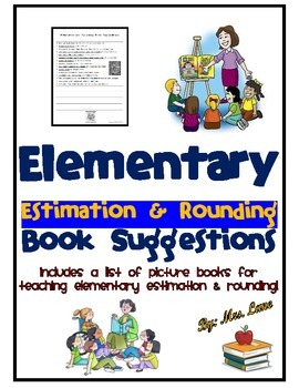 Elementary Estimation and Rounding Book Suggestions