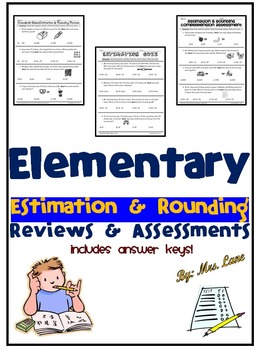 Elementary Estimation and Rounding Reviews and Assessments