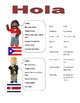 Elementary (FLES) Spanish Greetings Packet (7Pages)