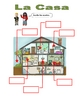 Elementary (FLES) Spanish Rooms in the House Packet  (7 Pages)
