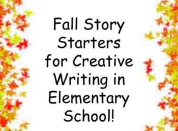 Elementary Fall Creative Story Starters