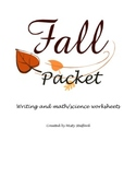 Elementary Fall Packet