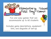 Elementary Field Day Games