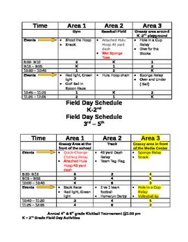 Elementary Field Day K-5