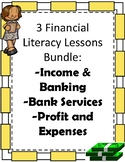 Elementary Financial Literacy Bundle: Three Booklets and A
