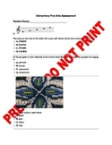 Elementary Fine Arts Assessment 1