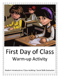 First Day Class-Building Activity