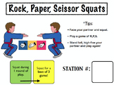 Elementary Fitness Station Fun