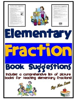 Elementary Fraction Book Suggestions