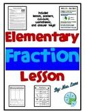 Elementary Fraction Lesson