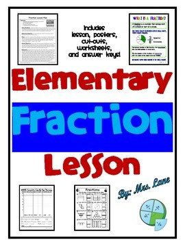 Elementary Fraction Lesson
