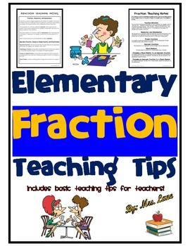 Elementary Fraction Teaching Tips