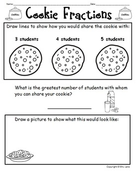 Elementary Fraction Worksheets