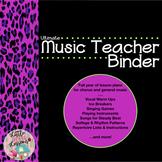 General Music Lesson Plans with Chorus Handbook Lesson Plans