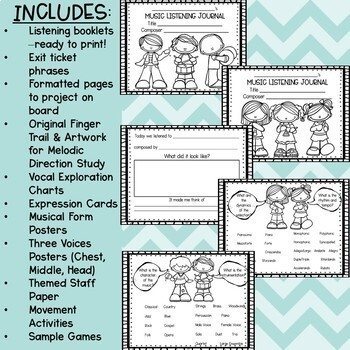 General Music Lesson Plans with Chorus Handbook Lesson Plans