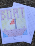 Elementary General Music Worksheet Color By Note Rhythm Value Secret Message