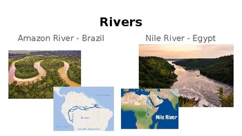 Elementary Geography Physical Features PowerPoint