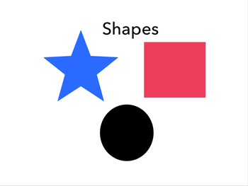 Elementary Geometric and Free Form Shape Presentation
