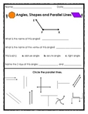 Elementary Geometry: Angles, Shapes and Parallel Lines I